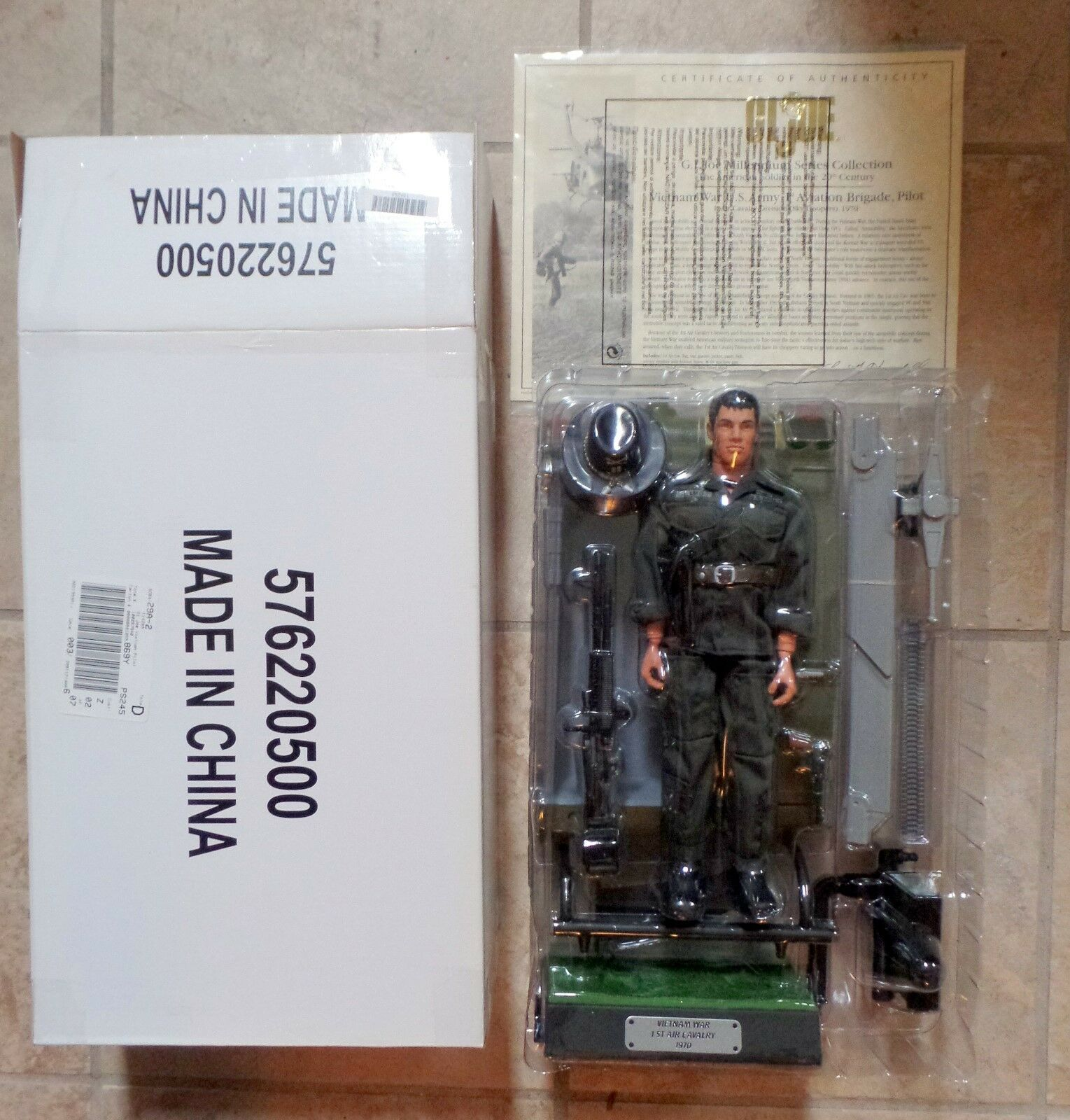 GI Joe Ltd Edition Mail-Away Vietnam War Army Pilot 1st Aviation Brigade Hasbro