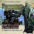 Rise of the Runelords: Spires of Xin-Shalast by Cavan Scott (CD-Audio, 2015)