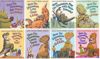 How Do Dinosaurs Count,play,colors, Pets++ 8 Board Book Set By Jane Yolen