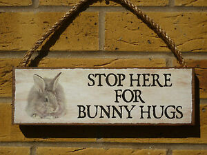 PERSONALISED-RABBIT-SIGN-BUNNY-RABBIT-SIGN-STOP-HERE-FOR-BUNNY-HUGS-SIGN-PLAQUE