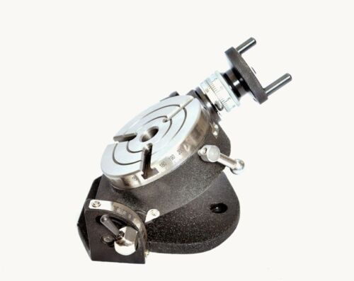 """4/"""" ROTARY TABLE NEW TILTING"""