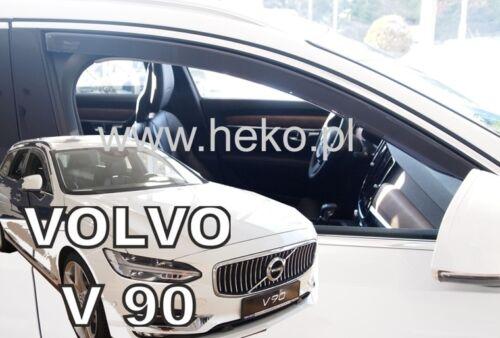 para volvo s90//v90 4//5 türig año a partir de 2016 Heko 31241 derivabrisas 2 pzas