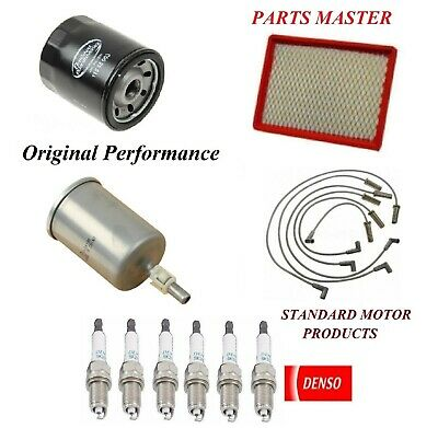 Tune Up Kit Air Oil Fuel Filters Wire Plugs For OLDSMOBILE ...
