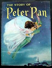 The Story of  Peter Pan Book by James M Barrie 1946 Illustrated Perks Pub