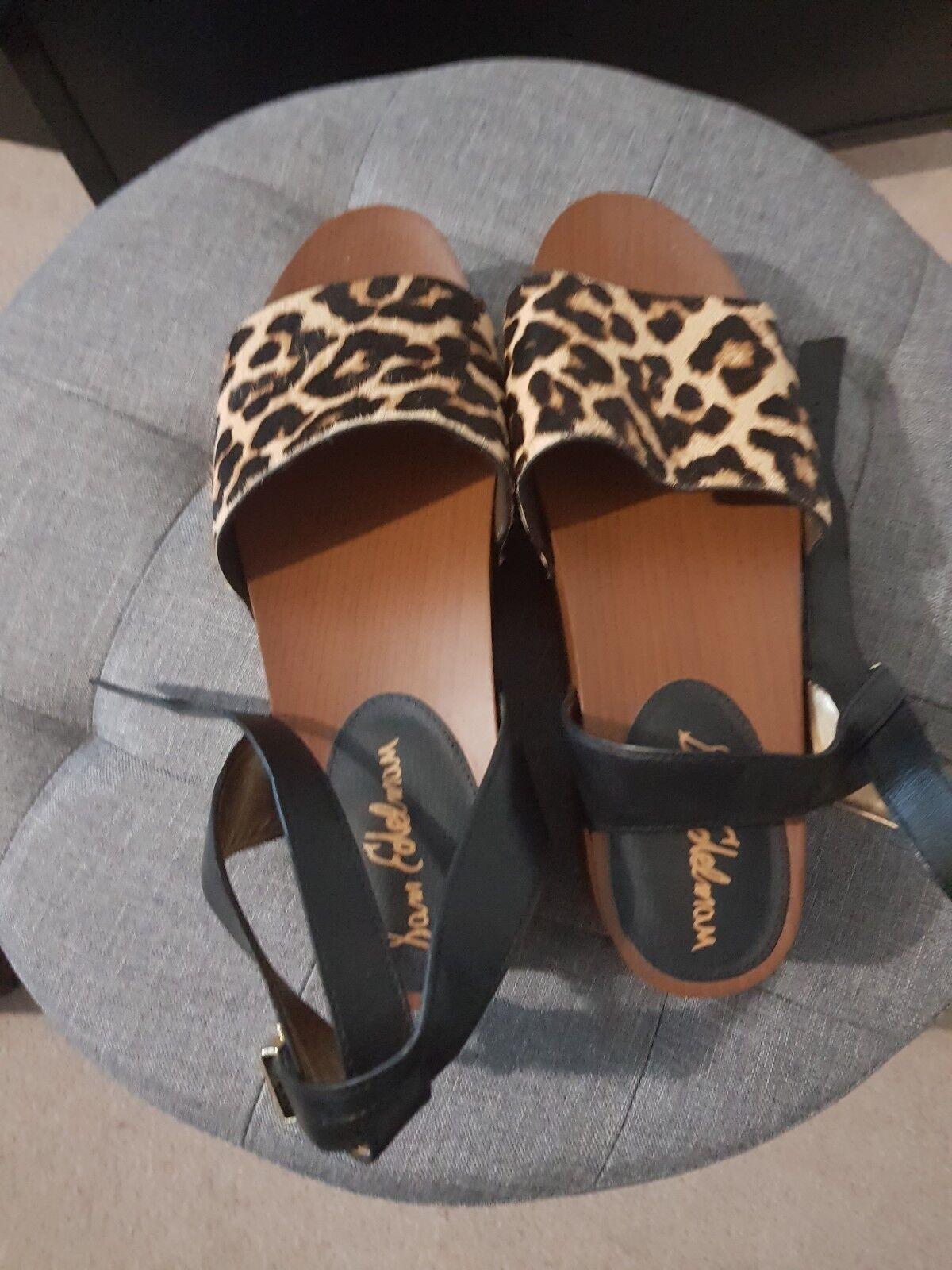 NEUF-élégante Sam Edelman Chaussures Imprimé Léopard - 8.5 US-