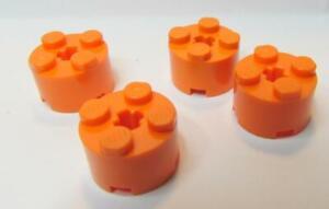 LEGO® Reddish Brown Brick Round 2 x 2 with Axle Hole Part 3941 MOC