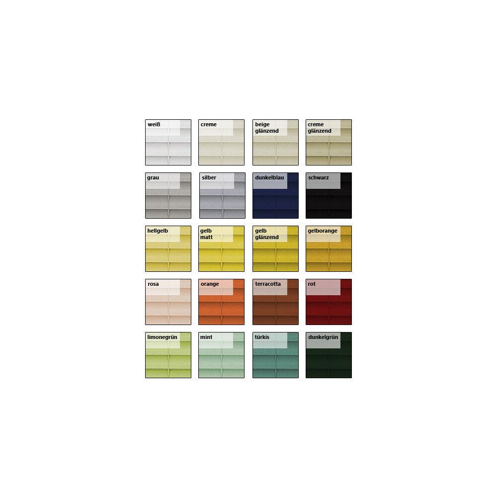 Alu Jalousie Aluminium Aluminium Aluminium Jalousette Jalusie Schalusie - Höhe 230 cm gelb | Verrückte Preis  309cc2