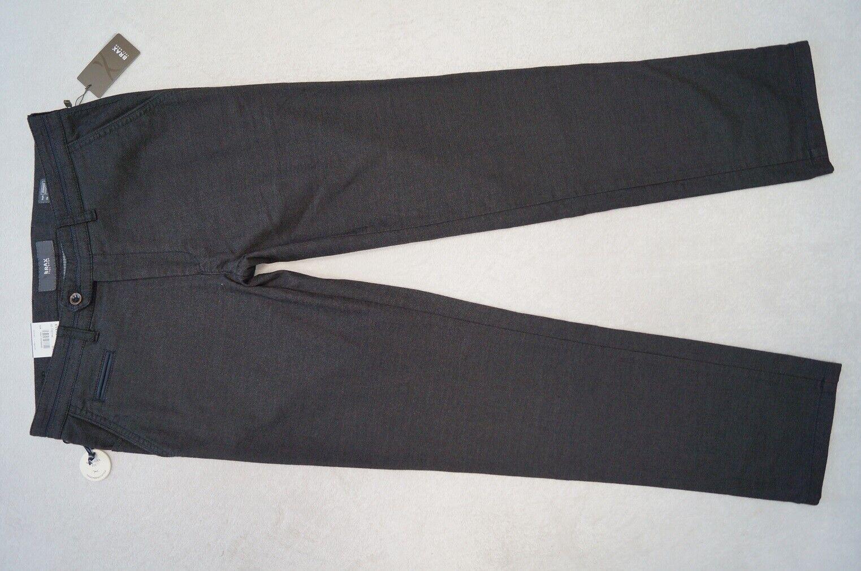 BRAX Everest Hose Wool look Chino Regular Fit W33 36 40 L32 34 36 dunkelgrau NEU