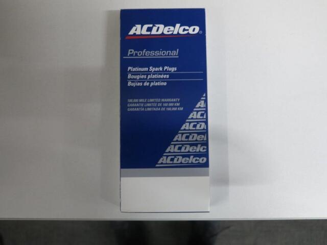 Genuine ACDELCO DOUBLE PLATINUM SPARKPLUG SET Commodore VT VX VY VZ GEN3 V8 LS 1