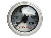 Avs Silver Faced 200 Psi Single Needle Gauge Air Ride Air Suspension Bagged