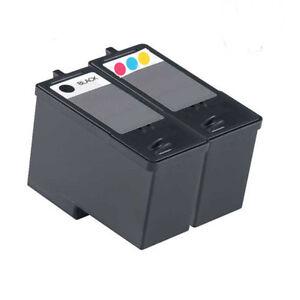 Non-OEM-For-Dell-JP451-Black-amp-JP453-Colour-Ink-Cartridges-948