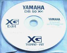 YAMAHA  DB50 XG  Software  -Techno-Kit-visuell aranger-XG Edit