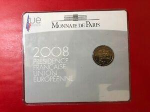 France-France-Commemorative-2008-Blister-Folder-Presidency-Ue