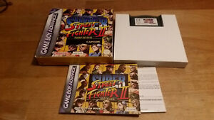 Super-Street-Fighter-II-2-Turbo-Revival-Game-Boy-Advance-GBA-OVP-Boxed