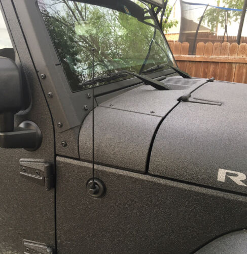 "15/"" Black Spring Stainless AM//FM Antenna Mast Fits 01-10 Ford Explorer SportTrac"