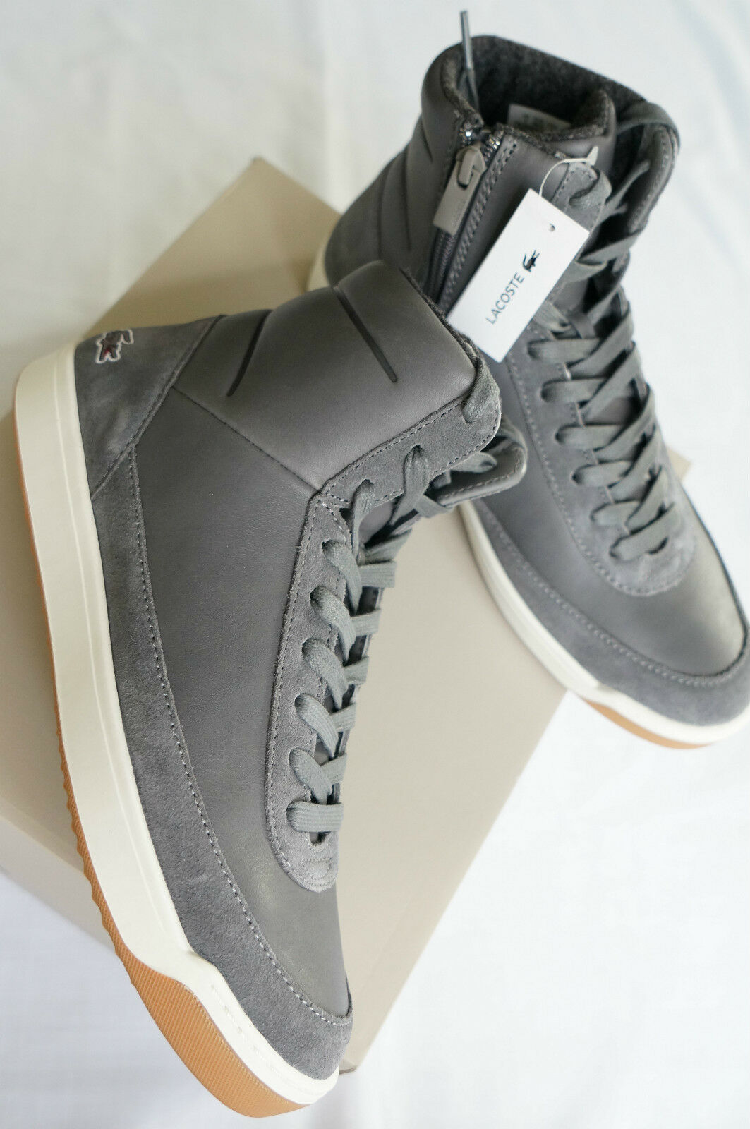 * Lacoste Damen Explorateur Calf 316 2 High-Top Sneakers Stiefelette Gr. 42