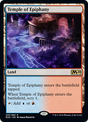 4X NM Temple Of Silence Playset MTG Magic M20 Core 2020 FREE SHIPPING