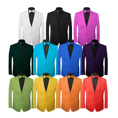 MEN'S PLAIN COLOURED SUIT FOR FANCY PARTY, STAGE SHOW, MOVIE CHARACTERS, EVENTS