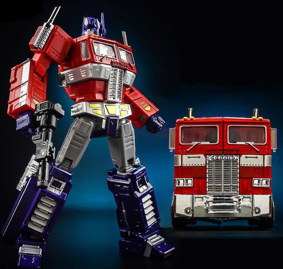 Transformers Optimus Prime G1 stile 20CM Giocattolo Action Figure Nuovo in Scatola