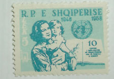 Albania Stamp 552 MNH Full Set Cat $8.00 UN Topical
