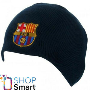 7d23566f332 Image is loading FC-BARCELONA-FOOTBALL-SOCCER-CLUB-TEAM-NAVY-KNITTED-