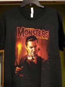 Famous-Monsters-of-Filmland-T-shirt-Bela-Lugosi-Dracula-color-Size-S-M-L-3XL
