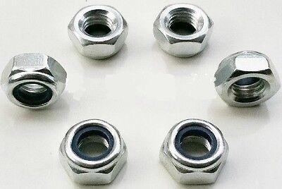 100pcs M3 Nylon Insert Locking Nuts