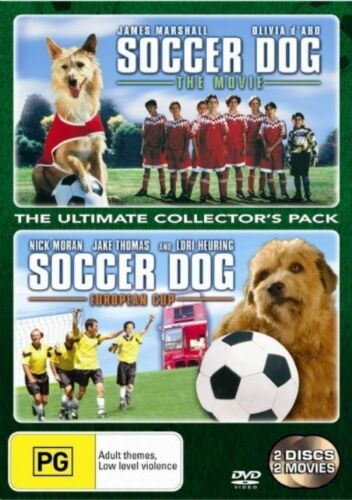 1 of 1 - Soccer Dog - The Movie / Soccer Dog - European Cup (DVD, 2007, 2-Disc Set) New