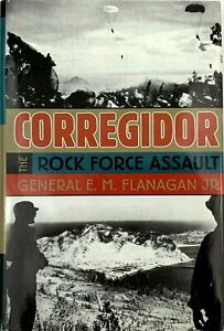 CORREGIDOR-The-Rock-Force-Assault-1945-By-E-M-Flanagan-Jr-HC-w-DJ
