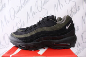 NIKE AIR MAX 95 HAL SZ 8.5 PATCH LOGO BLACK CARGO