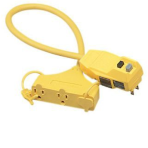 25 Ft w// GFCI Coleman Cable 14880228-6 Extension Cord