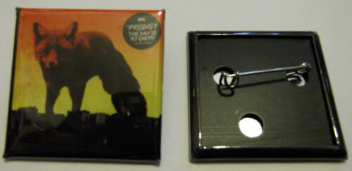 1.5 inches The Prodigy Square Record Cover Badge  38mm The Day Is My Enemy