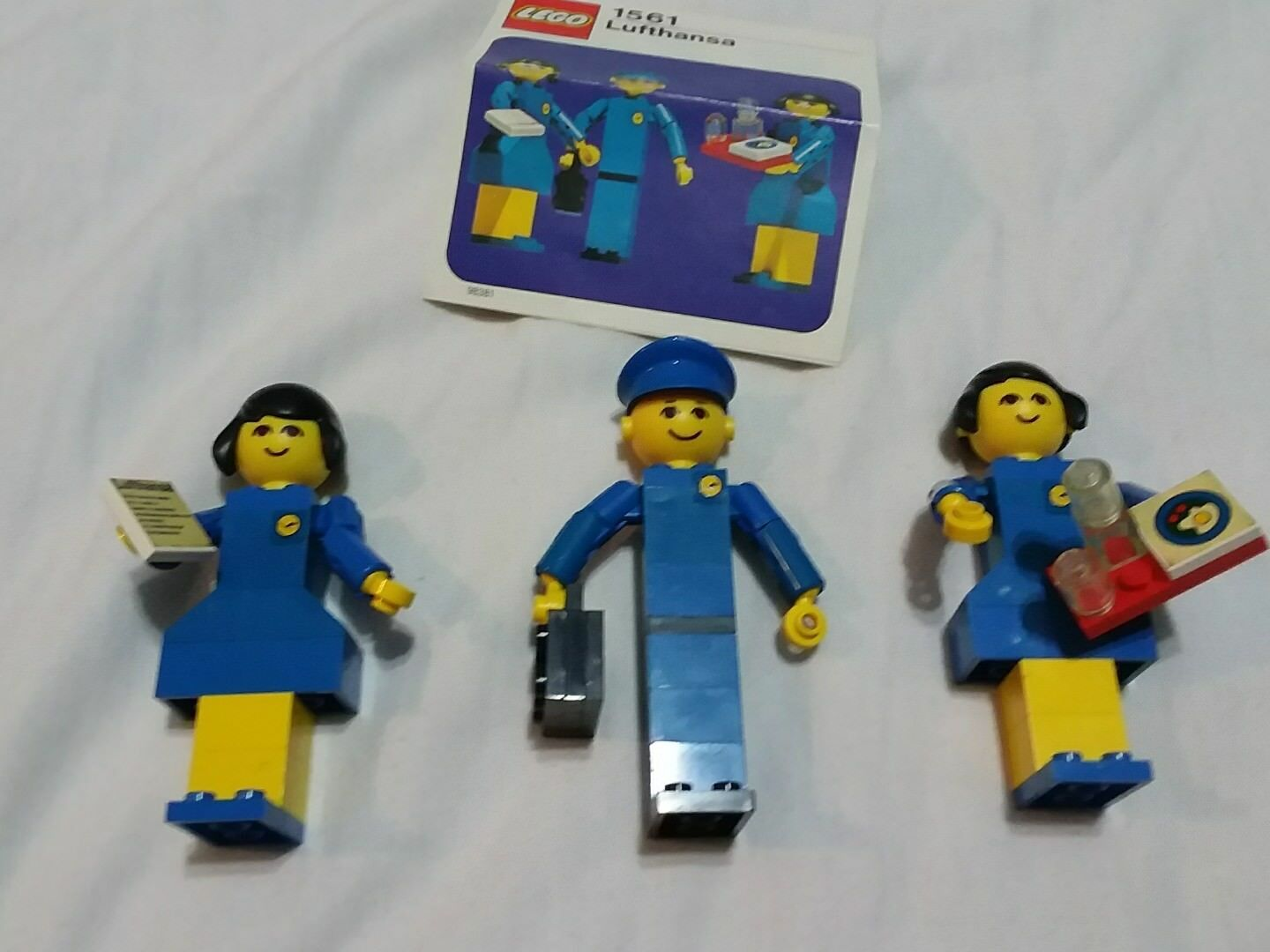LEGO Vintage 1561  Lufthansa Promotional Set: People
