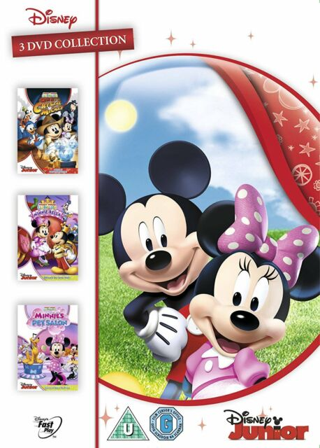 Mickey Mouse Clubhouse Triple Pack [DVD] [1995]