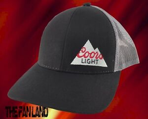 e604636c3ddc1 Image is loading New-Coors-Light-Beer-Mens-Trucker-Snapback-Hat-