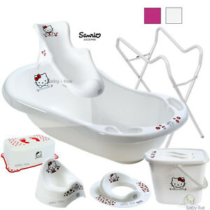 hello kitty set babywanne badewanne badesitz abfluss. Black Bedroom Furniture Sets. Home Design Ideas