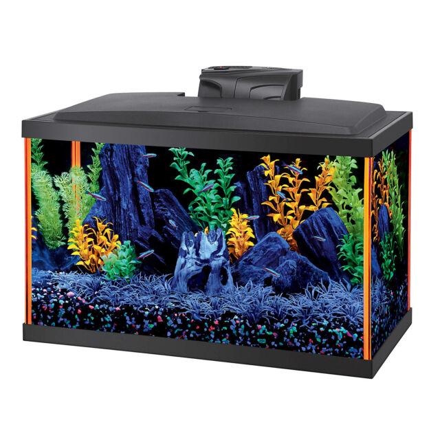 Aqueon Fish Aquarium Starter Kits Led Neoglow 10 Gallon