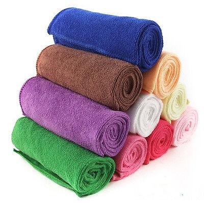 3 PCS Microfiber Towel Car Cleaning Wash Clean Cloth Many Colour 30X60CM