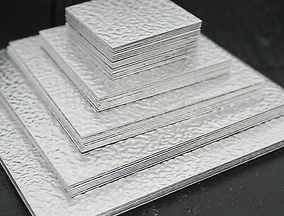 Stucco Decorative Sheet 0.8mm Aluminium  Guillotine Cut - Sheet Metal TIG Rivit