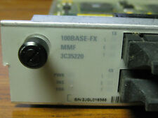 3COM Core Builder 3500 6 port 100BASE FX Module 3C35220