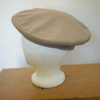 Never Worn Vintage Us Military Marines Art Cap Wool Blend Khaki Beret Hat 7