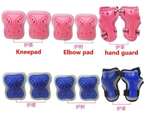 Kid Roller Skateboard Bicycle Cycling Knee Elbow Wrist Protective Guard Pad Gear