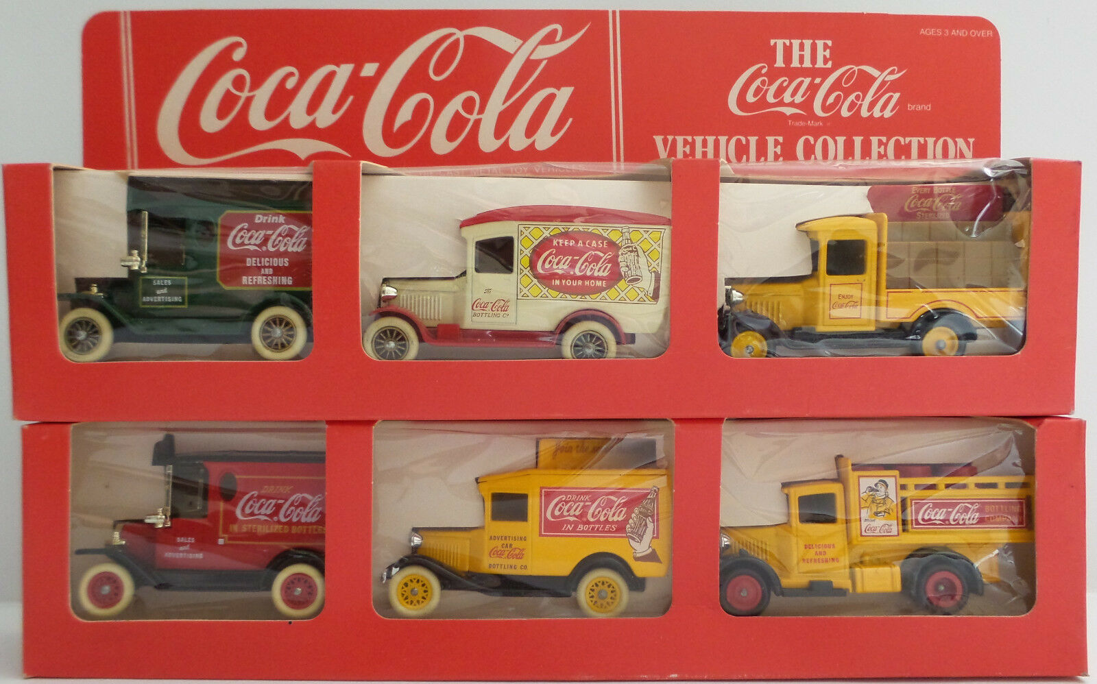 Véhicules  COCA-COLA Véhicule Collection Set 1 & 2 MADE BY LLEDO (DT)