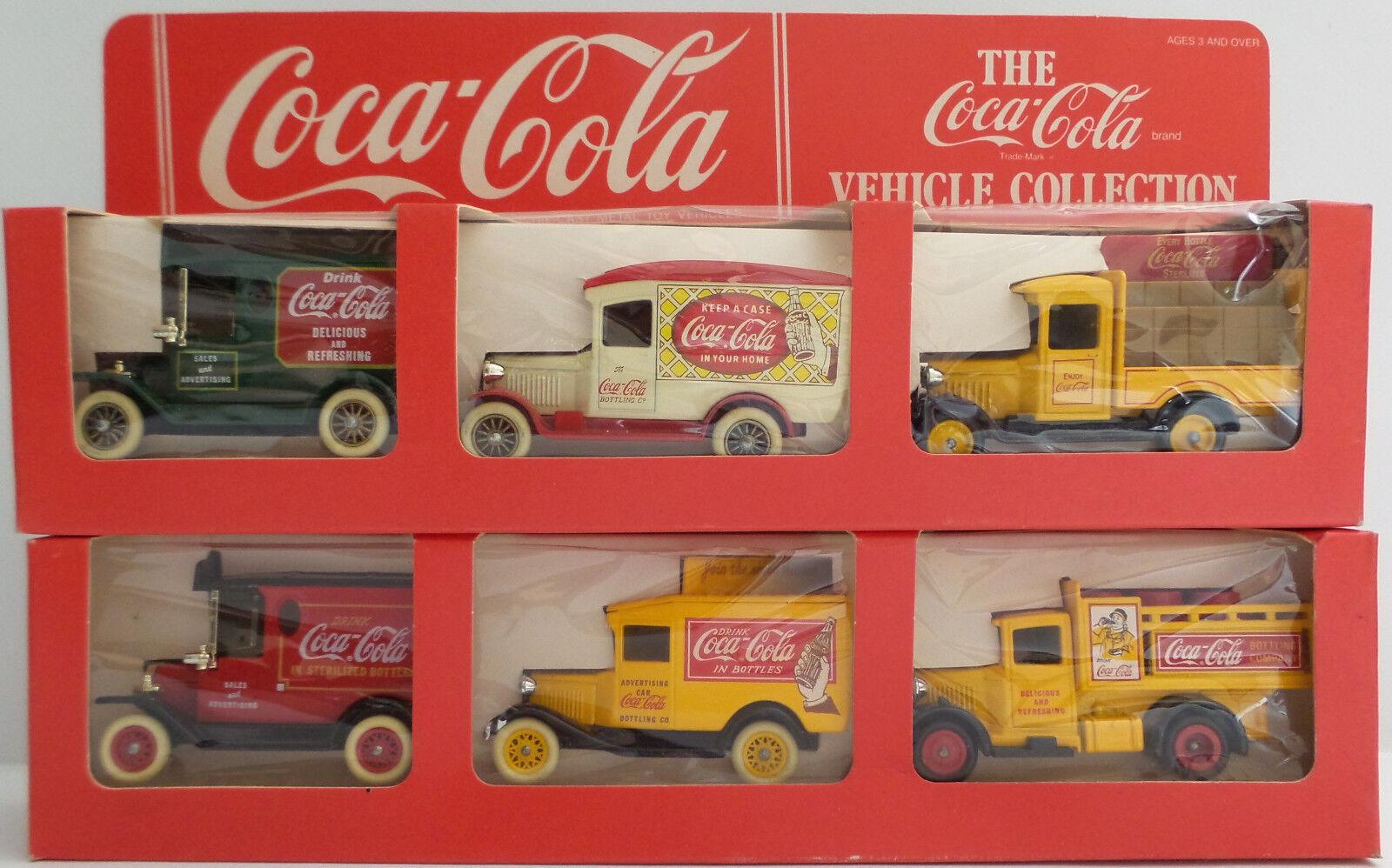 Fahrzeuge  coca - cola - sammlung hat 1 & 2 von lledo (dt)