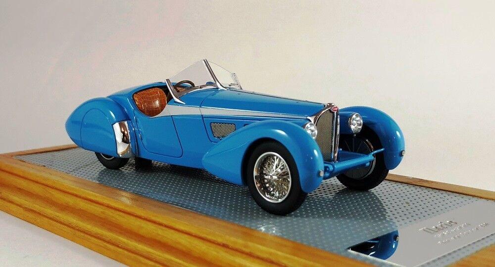 ILARIO 43115 - Bugatti T57SC Roadster Corsica 1938 sn57593 Original Car 1/43