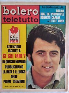 Bolero-1171-Little-Tony-Dalida-Mal-Carlos-Vanoni-Vannucchi-Sbragia-Equipe-84
