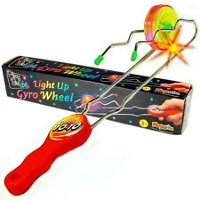 Light Up Gyro Wheel Magnetic Kinetic Rail Twister Science Toy Children Playwrite