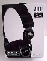 Altec Lansing Headphones Mzx756-blk Kickback Black