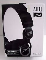 Altec Lansing Headphones Mzx756-blk Kickback Black