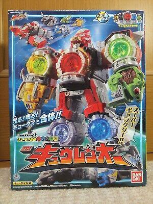 Bandai POWER RANGERS Uchu Sentai Kyuranger Qranger Megazord Kyurenoh JAPAN F//S